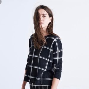 Madewell double window pane pullover sweater
